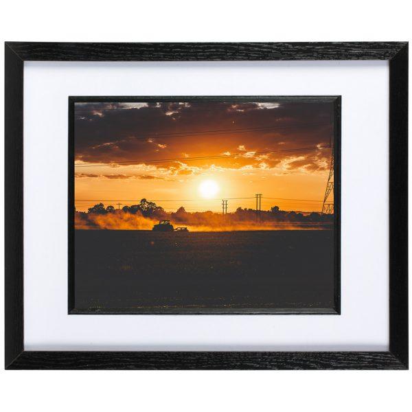 Mounted Frame - Modiford Sunset