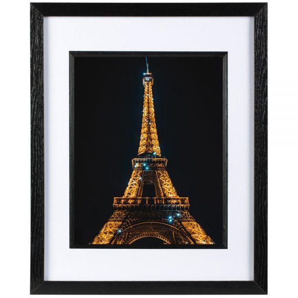 Mounted Frame - Paris By Night
