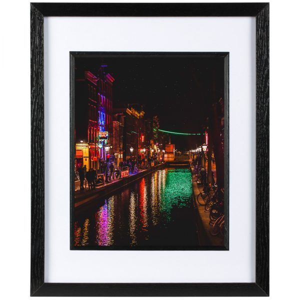 Mounted Frame - Red Light District